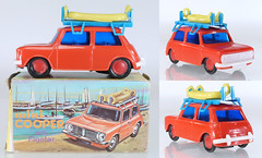 MIS-HK-Clifford-Mini (adrianz toyz) Tags: plastic toy model hong kong mini clubman clifford dinghy floater