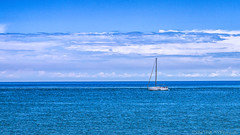 Sailing on the Niagara (Reggie TheJazzman) Tags: smileonsaturday lessismore blue water river vacation niagara bluesky reggiethejazzman