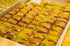 Baklava (Leonid Yaitskiy) Tags: travel turkey istanbul food sweet leonid iaitskyi nikon d610 nikkor 50 baklava