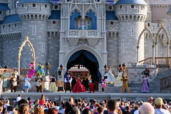 Disney World: Let the Magic Begin (wallyg) Tags: amusementpark belle castle castlestage chip chipndale chipanddale dale disneyworld florida letthemagicbegin magickingdom mciekymouse minnitemouse openingceremonies orlando pluto rapunzel sleepingbeautycastle snowwhite themepark tiana waltdisneyworldresort baylake orangecounty
