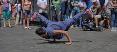 A Level Of Difficulty (swong95765) Tags: flexibility strength man entertainment entertainer show tips balance