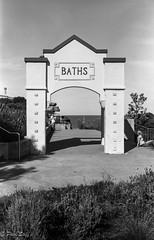 Gilles Baths Coogee (paul12192) Tags: australia coogee mediumformat 6x9 zeissikonnettar fomapan100