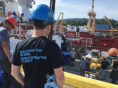 Mobilization day on E/V Nautilus (Ocean Networks Canada) Tags: abyss17 sidney bc nautilus team