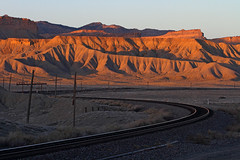 If only a train… (Moffat Road) Tags: desert bookcliffs formerriogrande tracks sunset utah railroad thompsonhill thompson ut