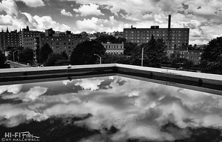 Flat Roof, Giant Puddle, Cloud Bonanza