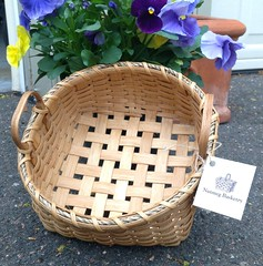 Napkin Basket (Nutmegbasketry) Tags: napkinbasket shakerbasket shaker basket baskets handwoven handmade ctmakers newenglandmade basketmaker