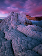 White Pocket, Arizona (www.fourcorners.photography) Tags: arizona vermillioncliffswilderness whitepocket sunset lastlight glow red leendgrad06 landscapephotography outdoor wilderness rock clouds fourcornersphotography southwestphotoadventures peterboehringerphotography
