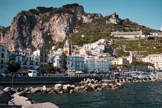 Approaching Amalfi