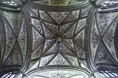 Collégiale Notre-Dame / Huy (jlnljnphotography) Tags: celling architecture collégiale notredame huy belgium liège wallonia ceiling symmetry lookup