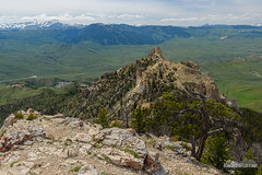 West of Heart Mountain (kevin-palmer) Tags: heartmountain cody wyoming absarokamountains june spring summer afternoon nikond750 tamron2470mmf28 scenic view cliffs clouds summit