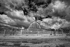 Grand Teton Moulton Barn 6 (Jason Blalock) Tags: grandteton grandtetonnationalpark grandtetons grandtetonsnationalpark park nationalpark nationalparkservice nps wyoming barn moultonbarn mormonrow rustic infrared mountains
