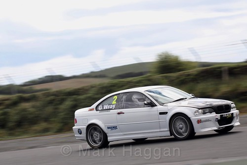 Greer Wray in the Libre Saloons championship at Kirkistown, June 2017