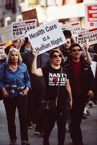From flickr.com: Medicare for All Rally {MID-268514}