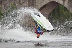 Jet Ski Freestyle (rondoudou87) Tags: pentax k1 fête pont pontsaintetienne limoges water eau riviere river vienne jetski freestyle smcpda300mmf40edifsdm emmanueljules festival fêtedesponts twop