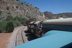 Paparazzi (Arrowhead Fan) Tags: verdecanyonrailroad arizona vcrr fp7 emd perkinsville