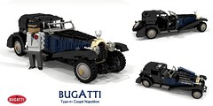 Bugatti Type-41 Coupé Napoléon - 41100 (lego911) Tags: bugatti type41 41 type royale coupe napoleon limousine coupé napoléon 41100 1927 1920s classic vintage luxury auto car moc model miniland lego lego911 ldd render cad povray lugnuts challenge 115 thefrenchconnection french connection france ettore elephant