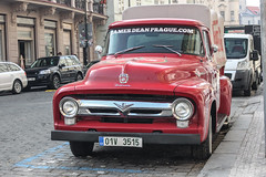 Czech Rep. Historic Vehilce - Ford F-100 (PrincepsLS) Tags: czech republic historic vehicle license plate prague spotting ford f100