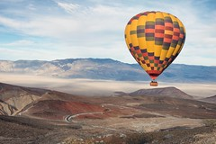 Unteathered (ShutterJack) Tags: deathvalley desert float hotairballoon valley fathercrowley lookout road travel adventure
