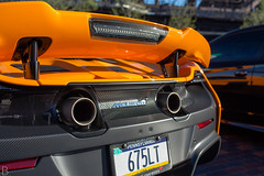 IMG_0364 (Brody D) Tags: cars coffee lv lehigh valley april 2017 canon 6d mclaren 675lt 675 lt orange steel stacks bethlehem pennsylvania exhaust tips