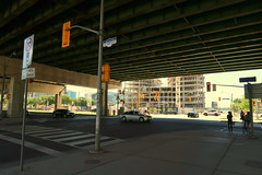 Under the Gardiner (wyliepoon) Tags: downtown toronto jarvis street gardiner expressway highway freeway elevated bridge overpass