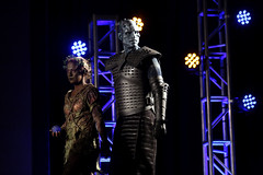 Children of the Forest & Night King cosplayer (Gage Skidmore) Tags: night king white walker cosplay cosplayer con thrones game hbo 2017 gaylord opryland resort convention center nashville tennessee children forest