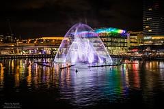Merman in the mist (Rakuli) Tags: ifttt 500px mist water reflection lights vivid colours sydney nights 2017