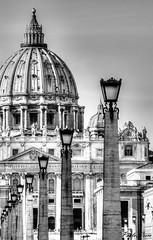 Prospettiva - Perspective (Pablos55) Tags: sanpietro cupola lampioni basilica dome streetlights prospettiva perspective