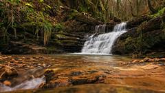 Con agua (Carpetovetón) Tags: cascada saltoagua samano agua arroyo regato sonynex5n río bosque