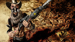 Bounty hunter (Migan Forder) Tags: apocalypse hero character male hunter scifi fantasy gun