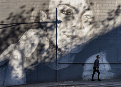 _DSC5484 copy Explored. (kaioyang) Tags: melbourne collingwood mural sony a7r2 zeiss loxia 50mm loxia250 peelst mt street candid shadow