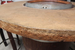 Stone Looking Concrete Table Top