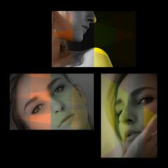 composizione (giuseppe radaelli) Tags: photo ritratto portrait modella model geometrie geometrical composizione composition colore