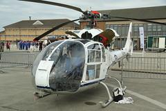 Gazelle HT.3 XZ934 (dyvroeth) Tags: gazelle xz934 gcbsi rnasyeovilton hmsheron egdy yvl ilchester somerset unitedkingdom gbr