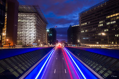Europa (Fab Boone Photo) Tags: light laightpainting brussels tripod city cityscape nuit flou ville fabienboone fabboone