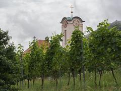 Kerktoren van Eschbach (Jeroen Hillenga) Tags: deutscheweinstrase wein wijn ranken kerktoren turm deutschland duitsland rheinlandpfalz wine vin