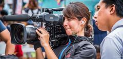 2017 - Japan - Naha Okinawa - Sony Multiscan - 15 of 21 (Ted's photos - For Me & You) Tags: 2017 japan nikon nikond750 nikonfx naha tedmcgrath tedsphotos vignetting nahajapan sony multiscan sonymultiscan hdvsmultiscan camera cameralens lenshood biglens photographer microphone cropped bokeh squinting