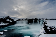 Goðafoss (Alisonfd) Tags: landscapes nature naturephotography landscapephotography naturephotos nikonnaturephotography iceland nikoniceland icelandphotography icelandtravelphoto icelandlandscapephoto icelandicphotography icelandiclandscape icelandlandscapes icelandnature ice snow snowyweather icelandwaterfall icelandicwaterfall waterfalls snowywaterfall godafoss travel travelphotographer nikontravelphotography femaletravelphotographer femalephotographer waterfall godafosswaterfall snowwaterfall icewaterfall frozenwaterfall weather winter winterlandscape season sky water river flowing longexposure milky milkywater nikon tamron 2470mm