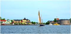 Vaxholm (lagergrenjan) Tags: vaxholm fästning segelfartyg