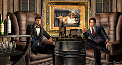 Just Like A Cigar, In Life You Need To Have Some Length And Some Girth. (sam Lycan) Tags: secondlife firestorm sl boys men hot dapper ava avi avatar virtualworld wewanttobefree cigar gentlemen gentleman vintage sexy suits drinking whiskey amazing oldschool smart funny cheeky