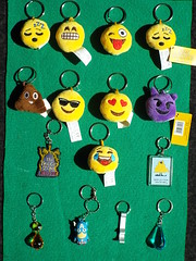 Keyring Collection 91 (Paranoid from suffolk) Tags: 2017 keyrings collection collectibles emoticons emojis