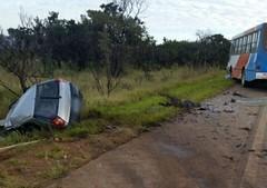 Jovens morrem em grave acidente na BR-354 próximo de Rio Paranaíba, MG (portalminas) Tags: jovens morrem em grave acidente na br354 próximo de rio paranaíba mg