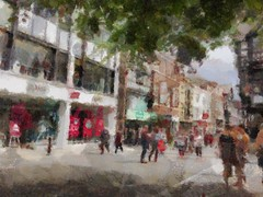 impressionist Chester England (18mm & Other Stuff) Tags: impressionist painting england chester autopainter