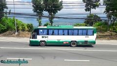 BSC 121411 With Taal Volcano at the back and Laurel, Batangas  ▪ Heading to Pasay from Nasugbu. ▪Bus spotted at Crossing Mendez, Cavite (sieraalpha) Tags: bsc batmanstarexpress nasugbupasay pasaynasugbu daewoo tagaytay
