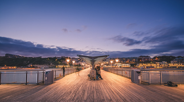 An evening at the Boscombe pier