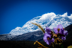 Mt. Huascaran is Peru's highest mountain.