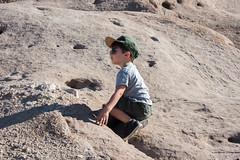 vasquez rocks with dan & max (jkenning) Tags: losangeles vasquezrocks 2016