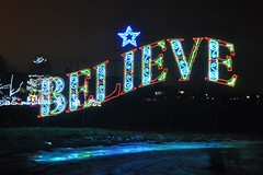 20 Believe Sign (megatti) Tags: believe buckscounty christmas christmaslights pa pennsylvania shadybrookfarm sign yardley