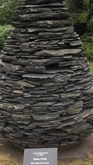 Slate Cone (ianharrywebb) Tags: iansdigitalphotos rbg edinburgh art andygoldsworthy slatecone