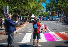 2017.06.09 DCRainbowCrosswalks, Washington, DC USA 6228