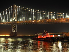 San Francisco 2016 (hunbille) Tags: usa america california sanfrancisco san francisco oakland bay bridge oaklandbaybridge baybridge rinconpark rincon park boat